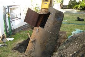 Underground oil tank search & removal